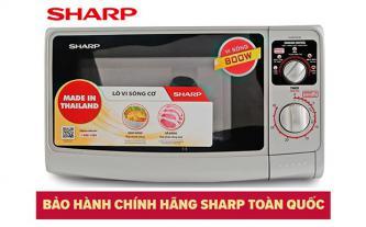 Xả kho lò vi sóng Thái Lan Sharp R-20A1(S)VN giá 1,485 triệu