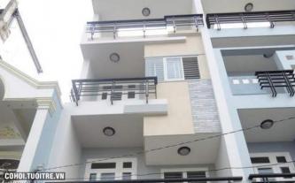 Nhà mới xây hẻm 12m Bàu Cát 8 Tân Bình