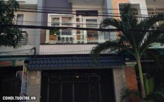 Nhà mặt tiền đường Phổ Quang Tân Bình xây đúc kiên cố