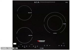 Bếp 2 điện từ - 1 hồng ngoại Taka TK-IR3A