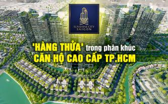 Sunshine City Sài Gòn - Hàng thửa trong phân khúc căn hộ cao cấp TP.HCM