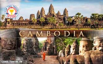 Tour du lịch Campuchia 4N3Đ Xuân 2016