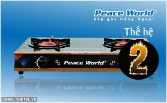 Bếp gas hồng ngoại hâm cao cấp Peace World