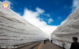 Tour du lịch Nhật Bản: Khám phá bức tường tuyết
