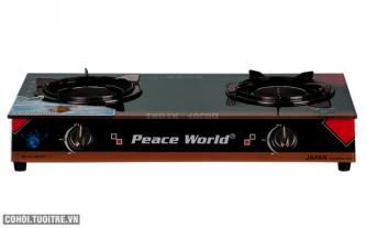 Bếp gas hồng ngoại hâm cao cấp IC Peace World-PW 255 iHNH