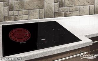 Bếp đôi hồng ngoại điện từ Chef's EH-MIX866