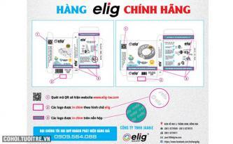 Cách phân biệt sản phẩm Elig thật và giả