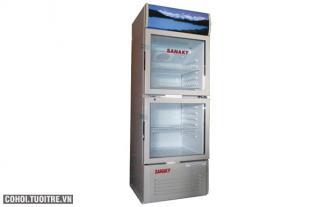 Tủ mát 2 cửa Sanaky VH 210W ( 210 lít)
