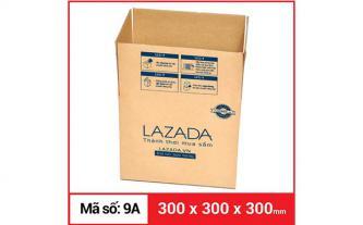 Thùng carton gói hàng kích thước 300 x 300 x 300mm