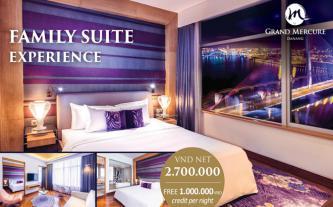 Ưu đãi nghỉ dưỡng dịp Tết siêu hấp dẫn tại khách sạn Grand Mercure Danang