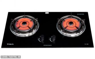Hấp dẫn bếp gas âm hồng ngoại Taka tiết kiệm gas 30%