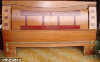 Giường gỗ MDF đẹp và giá rẻ