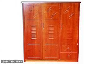 Tủ áo 1m6 MDF (xoan đào)