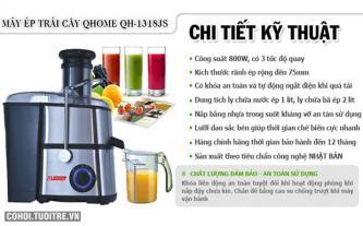 Máy ép trái cây đa chức năng QHome QH-1318JS