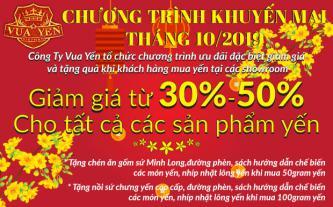 Yến sào Khánh Hòa ưu đãi lên đến 50% mừng 20/10