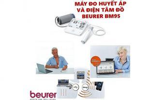 Đánh giá chi tiết máy đo huyết áp bắp tay Beurer BM95