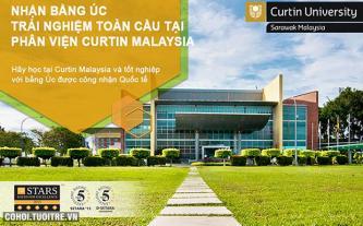 Học bổng và hỗ trợ tài chính 2016 của Đại Học Curtin