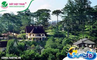 Tour Du Lịch Đà Lạt 4N3Đ, KS 3 sao