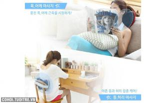 3 dòng máy massage lưng loại tốt trên thị trường