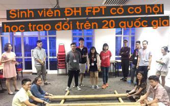 Sinh viên ĐH FPT có cơ hội học trao đổi trên 20 quốc gia