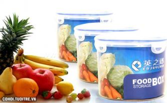 Bộ 3 hộp nhựa đựng thực phẩm Enjoland PL.13-001