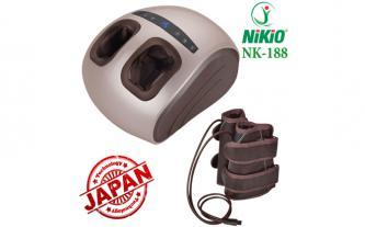 Máy massage chân áp suất khí Nikio NK-188, dòng cao cấp 2in1, BH 2 năm giá 2.690.000đ