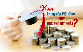 Vì sao trung cấp Việt Giao nằm trong 'top' trường học phí tốt nhất