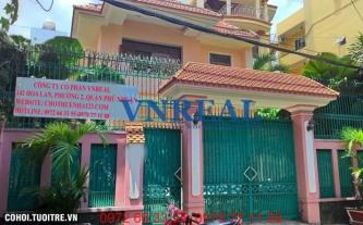 Cho thuê nhà quận Tân Bình