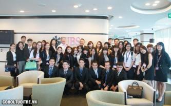 Sinh viên trường ERC đi tham quan thực tế công ty Google Singapore