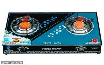 Bếp gas hồng ngoại Peace World PW-7650HN