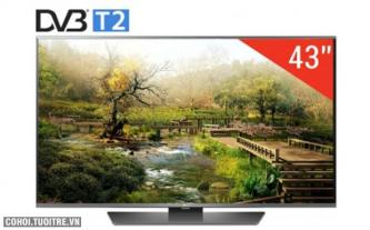 TV LED LG 43LF630T tích hợp đầu thu kỹ thuật số