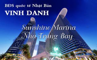 BĐS quốc tế Nhật Bản vinh danh Sunshine Marina Nha Trang Bay