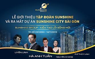Đếm ngược đến lễ ra mắt Sunshine Group tại TP.HCM