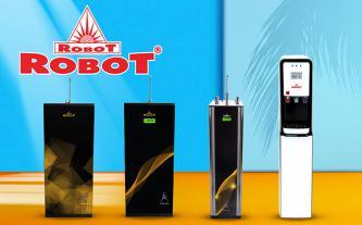 Máy lọc nước nóng nguội, tích hợp UF+R.O và LCD duy nhất ở ROBOT