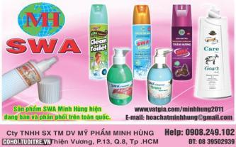 Sản phẩm SWA khử mùi cao cấp