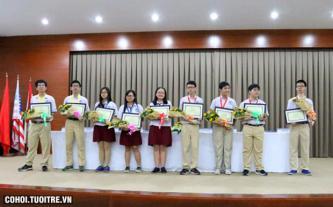 Học sinh QT Á Châu đạt thành tích cao trong kỳ thi Olympic