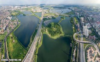Phía Nam Hà Nội thuận lợi trong kiến tạo cảnh quan xanh