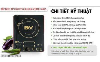 An toàn với bếp điện từ cảm ứng Black&White BW-1008A