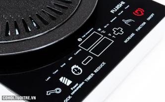 Bếp hồng ngoại cảm ứng Fujishi A6 không kén nồi