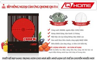 An toàn với bếp hồng ngoại cảm ứng Q-Home QH-T14