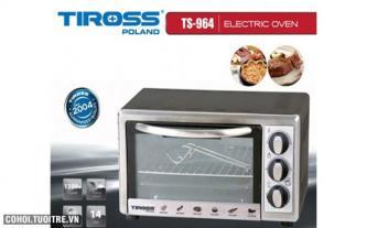 Lò nướng bằng thanh nhiệt Tiross TS964