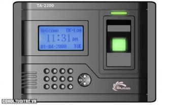 Máy chấm công vân tay Silicon TA2200