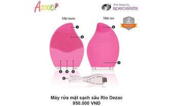 Máy rửa mặt Rio De Zac