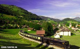 Tour tham quan viên ngọc Thụy Sĩ 7 ngày