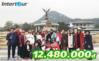 Vi vu Hàn Quốc hè 2017 chỉ với 12,48 triệu