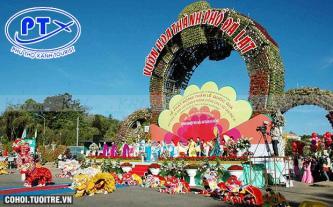 Tour Festival Hoa Đà Lạt 2015 và chào năm mới 2016
