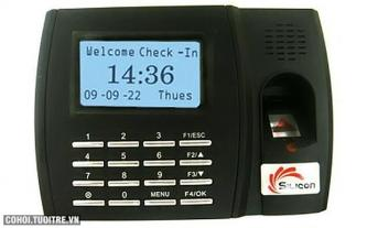 Máy chấm công vân tay Silicon FTA-U300 + ID