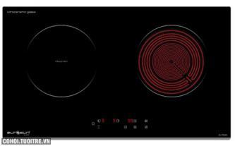 Bếp hồng ngoại điện từ đôi Eurosun EU-TE269