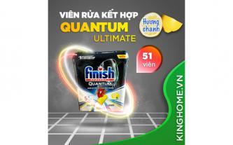 Giảm giá viên rửa bát Finish Quantum Ultimate 51 viên