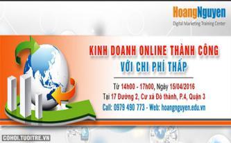 Chìa khóa kinh doanh online thành công